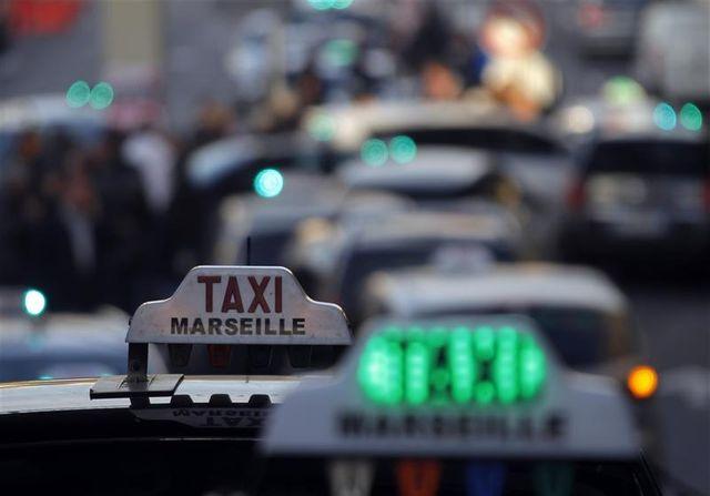 la grève des taxis très suivie