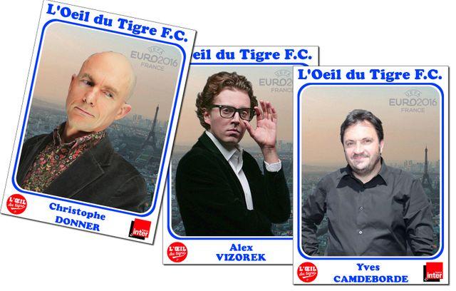 Chritophe Donner, Alex Vizorek et Yves Camdeborde