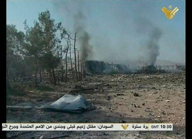 frappe israélienne sur la syrie