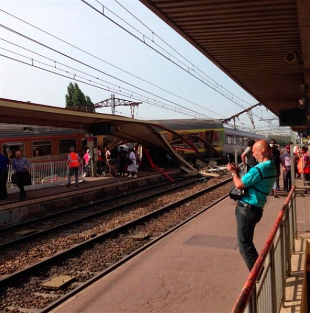 grave accident de train dans l'essonne
