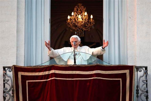 dernière apparition publique de benoît xvi en tant que pape