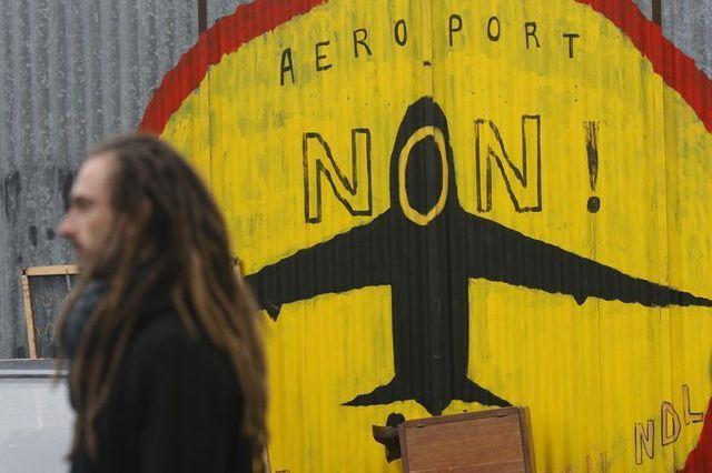 les opposants au projet d'aéroport de notre-dame-des-landes se rassemblent de nouveau