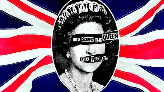 Poster pour The Sex Pistols Single God Save The Queen ©Getty Images
