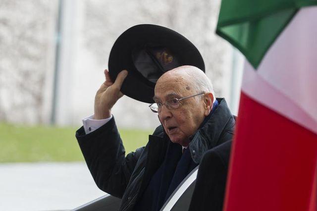 le président italien restera à son poste jusqu'à la fin de son mandat