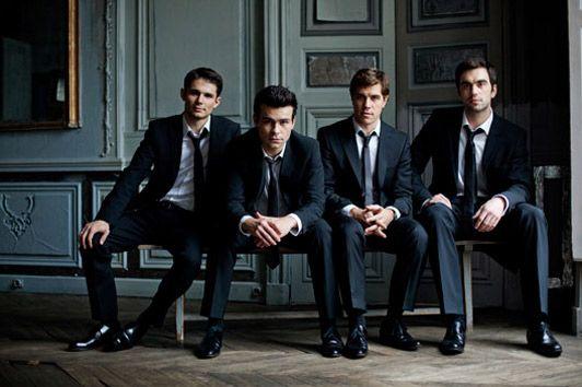 Quatuor Modigliani, quatuor à cordes : Philippe Bernhard, Loïc Rio, violons - Laurent Marfaing, alto - François Kieffer : violoncelle