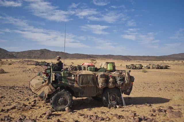 début du retrait des troupes françaises du mali