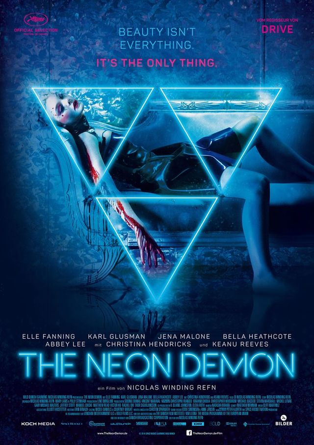 "Affiche de ""The Neon Demon"""