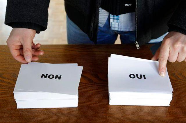 les alsaciens rejettent la la fusion de leurs institutions, selon les premiers résultats du référendum