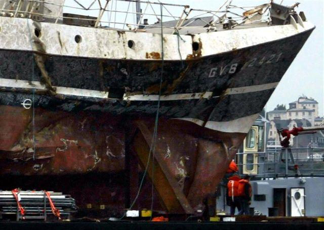 les experts écartent la thèse du sous-marin dans le naufrage du bugaled breizh