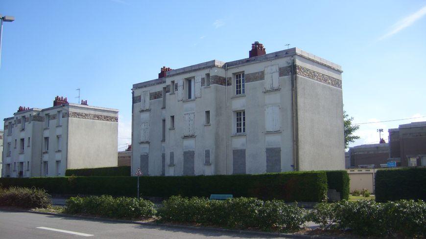 La cité coloniale à Cherbourg