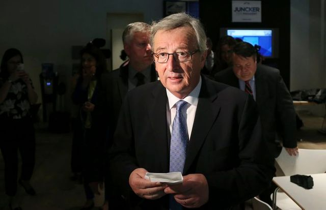 jean-claude juncker défend sa candidature à la tête de la commission
