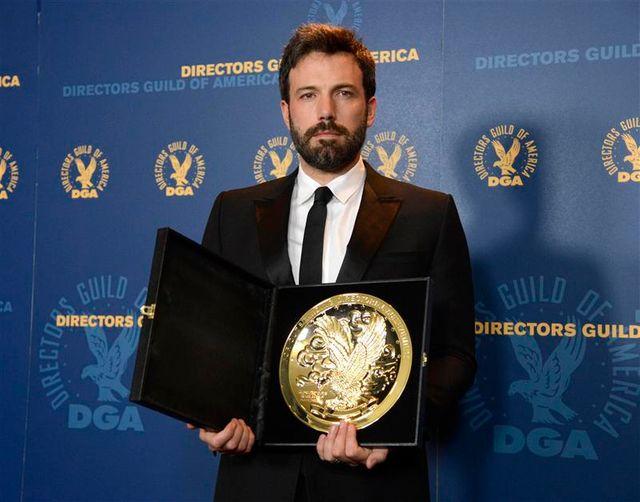 """ben affleck récompensé aux états-unis pour son film """"argo"""""""