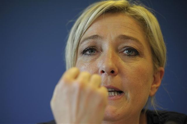 """marine le pen veut consolider """"l'espoir"""" né de son score à la présidentielle de 2012"""
