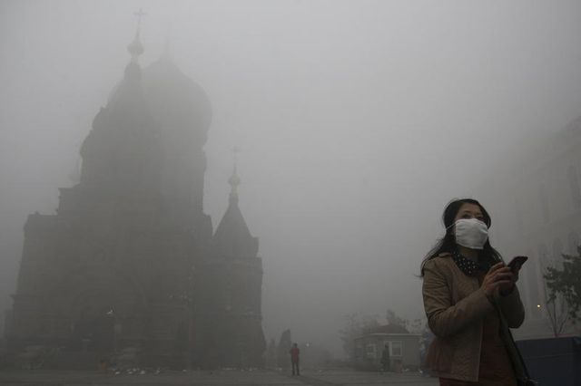 une mégalopole chinoise fermée à cause de la pollution de l'air
