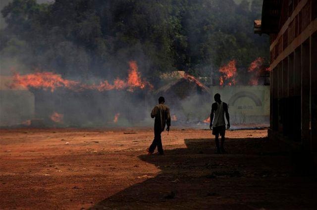 près d'un million de déplacés en centrafrique