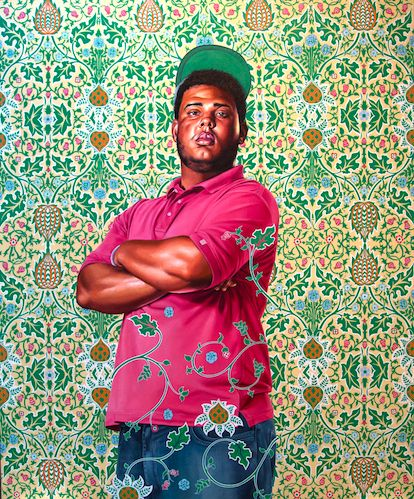 Portrait of Jose Alberto de la Cruz Diaz, 2016 Oil on canvas 182,9 x 152,4 cm 72