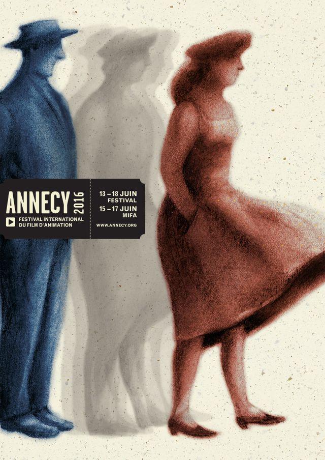 Affiche du Festival d'Annecy 2016