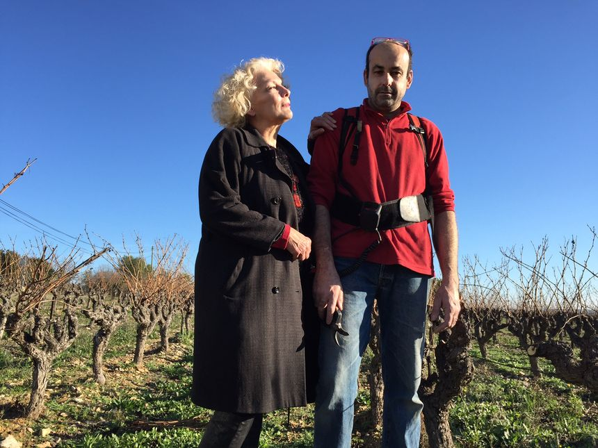 Fabienne et Alain Bruguière exploitent 6.5 hectares à Lauret