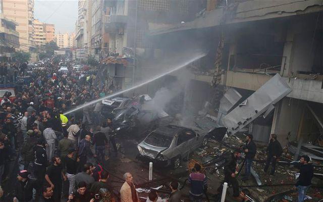 explosion meurtrière dans le sud de beyrouth