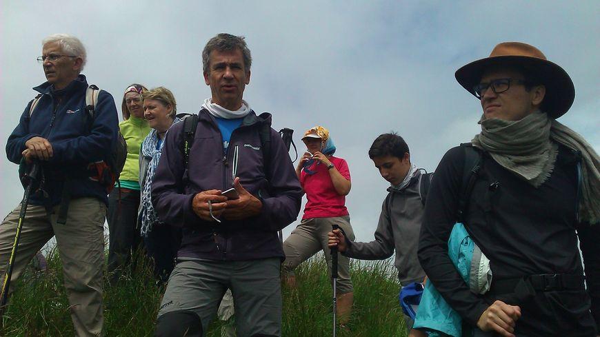Les stagiaires au sommet du Mont Pellat (Chartreuse)