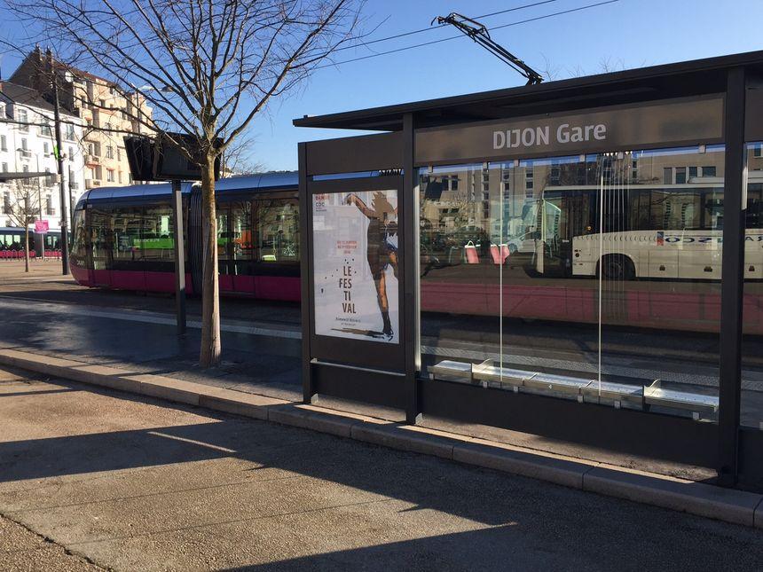 Le tram Divia à Dijon