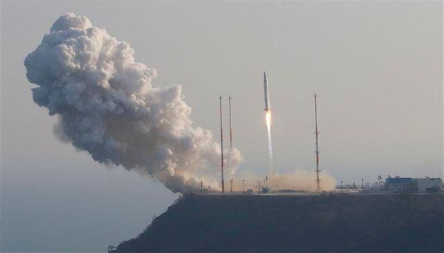 lancement de la première fusée spatiale sud-coréenne