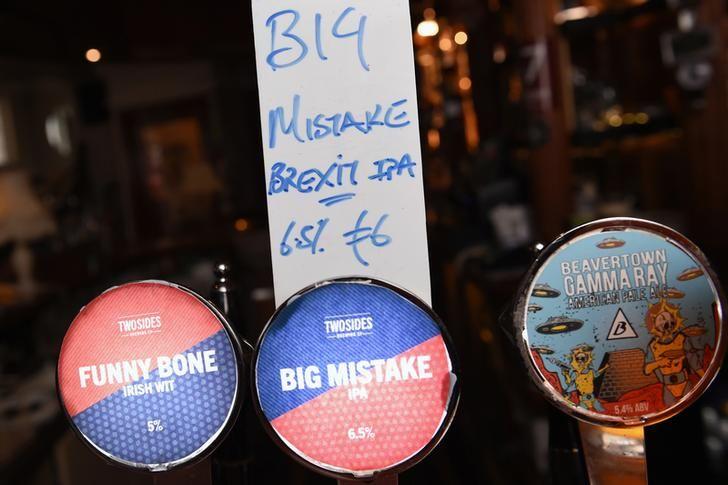 """Un bar de Dublin a fabriqué une bière spéciale """"Big Mistake"""" pour le Brexit"""
