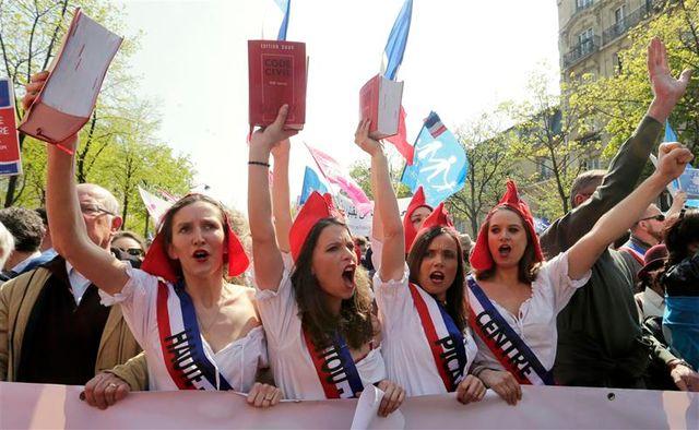 nouvelle mobilisation à paris des opposants au mariage homosexuel