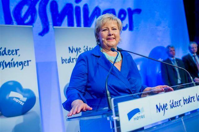 retour au pouvoir des conservateurs en norvège