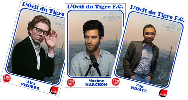 Alex Vizorek, Maxime Marchon et Pap N'Diaye