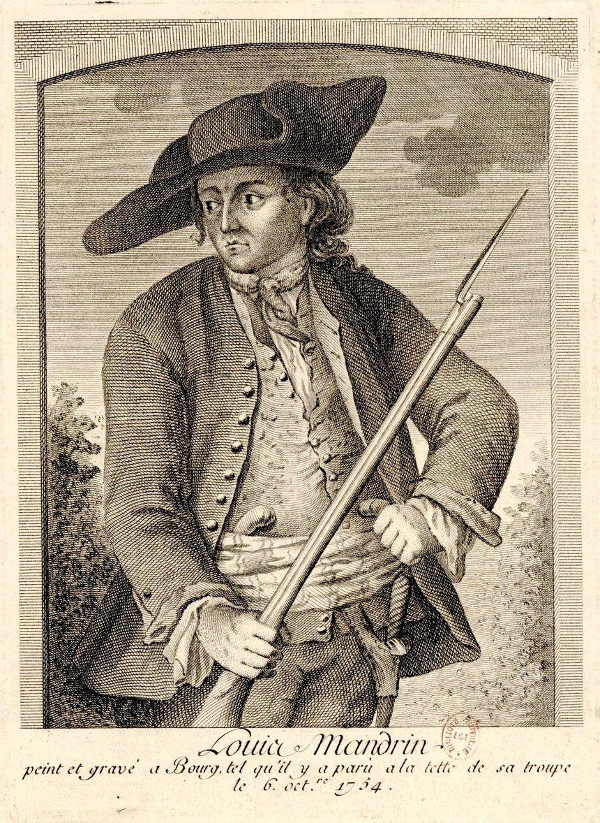 Louis Mandrin - peinture et gravure