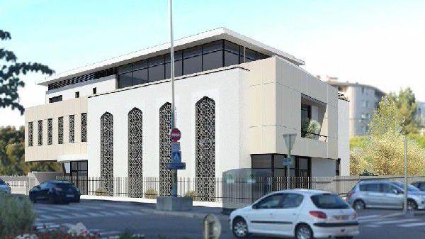 Le projet de la nouvelle mosquée d'Annecy (image d'architecte)