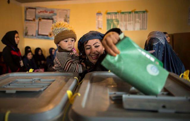 élection présidentielle en afghanistan