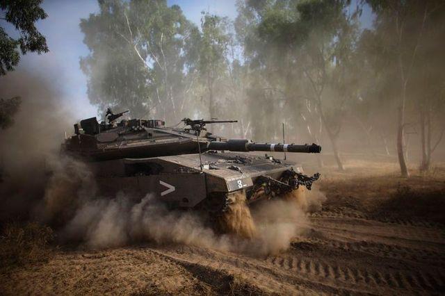 israël passse a l'offensive terrestre dans la bande de gaza