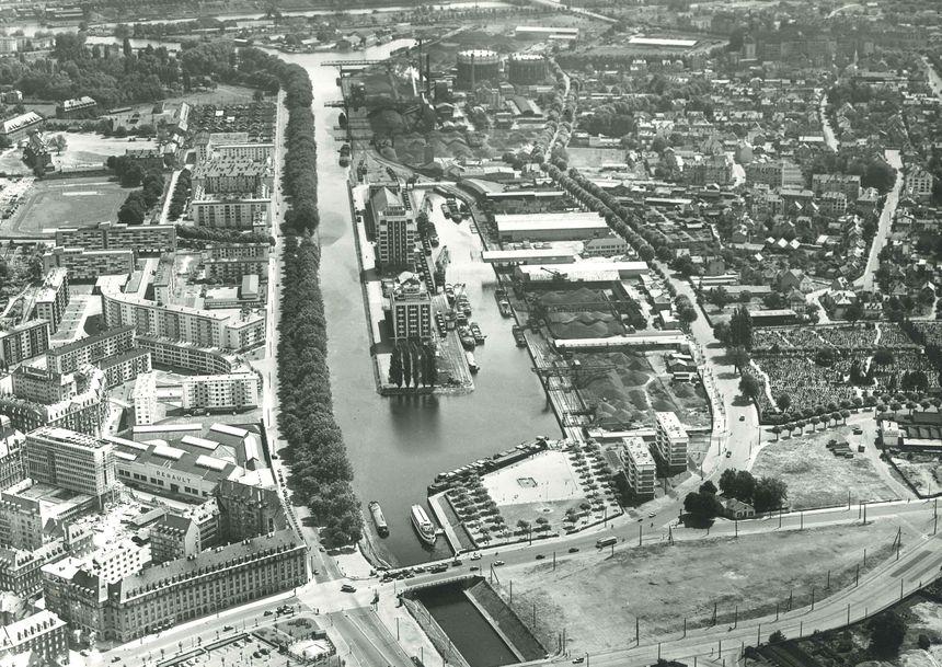 Le Port autonome de Strasbourg en 1959