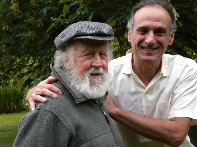 Hubert Reeves et Denis Cheissoux à Malicorne dans L'Yonne