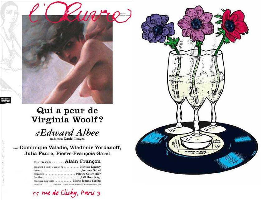 """""""Qui a peur de Virginia Woolf?"""", """"Je me mets au milieu laissez-moi dormir"""""""