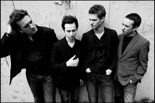Quatuor Ebène, quatuor à cordes : Pierre Colombet, Gabriel Le Magadure, violons - Mathieu Herzog, alto - Raphaël Merlin, violoncelle