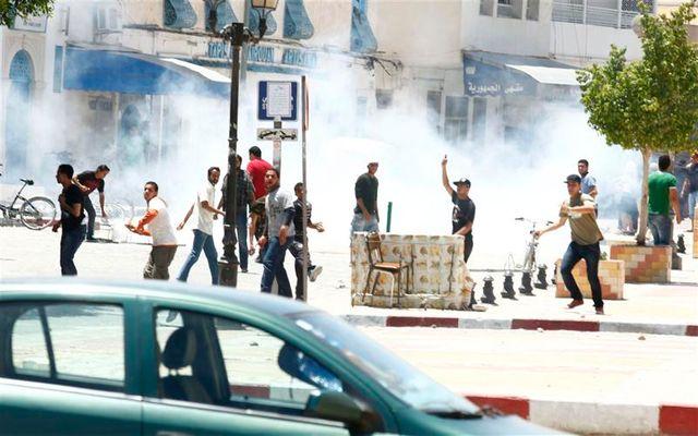 affrontements entre salafistes et police en tunisie
