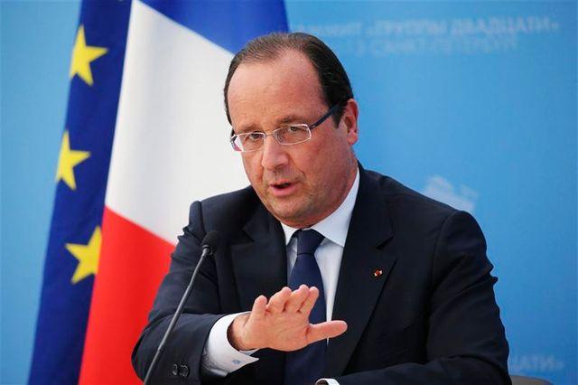 françois hollande attendra le rapport des experts de l'onu avant une éventuelle intervention en syrie