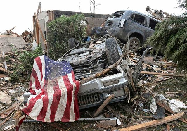 tornade meurtrière dans l'oklahoma