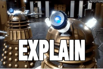Oui, on sait, ceci n'est pas un robot.