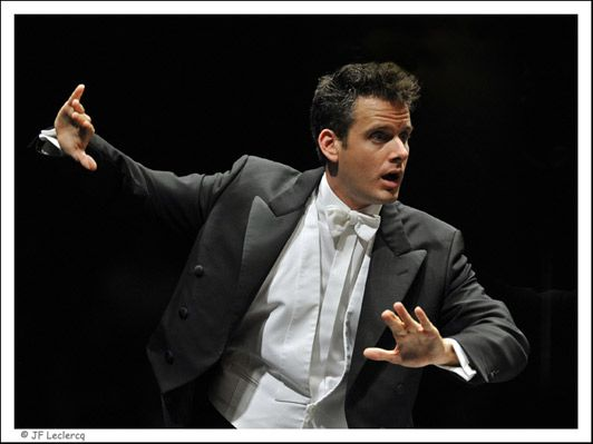 Philippe Jordan, chef d'orchestre, directeur musical de l'Opéra National de Paris