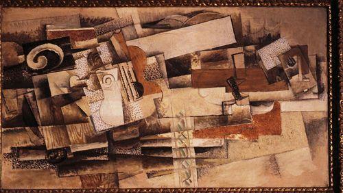 """L'histoire de """"L'Homme à la guitare"""" de Georges Braque"""