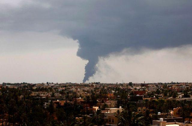 la libye en plein chaos