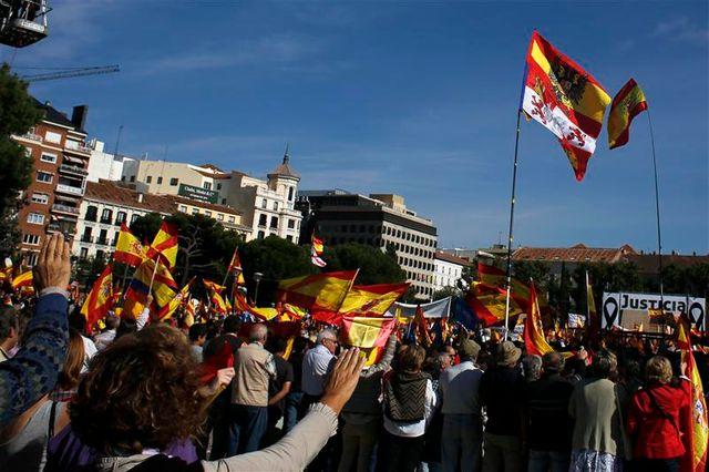 manifestation anti-eta à madrid