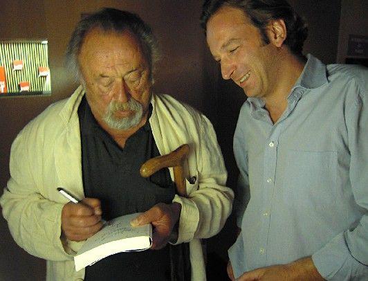 Jim Harrison et François Busnel