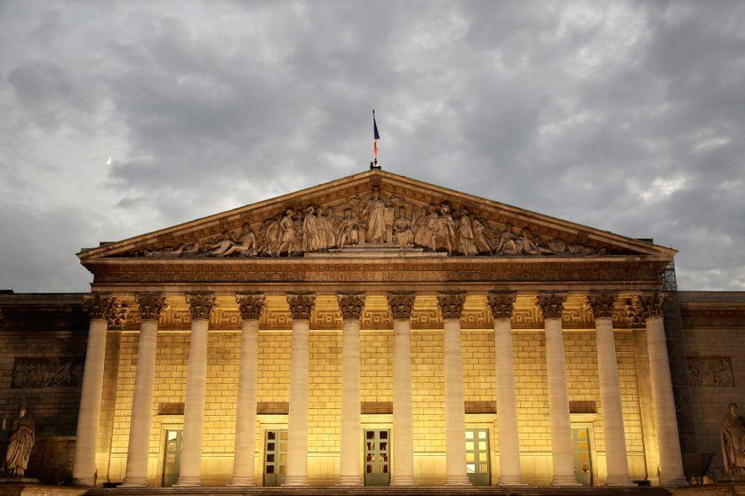 L'Assemblée nationale, palais Bourbon à Paris