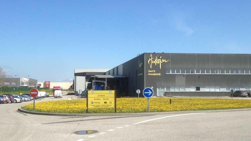 L'un de deux sites de production du groupe Autajon à Montélimar