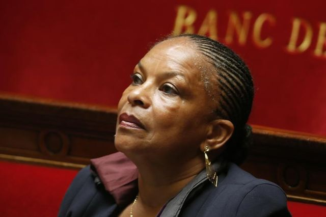 christiane taubira se défend d'avoir voulu limoger un procureur